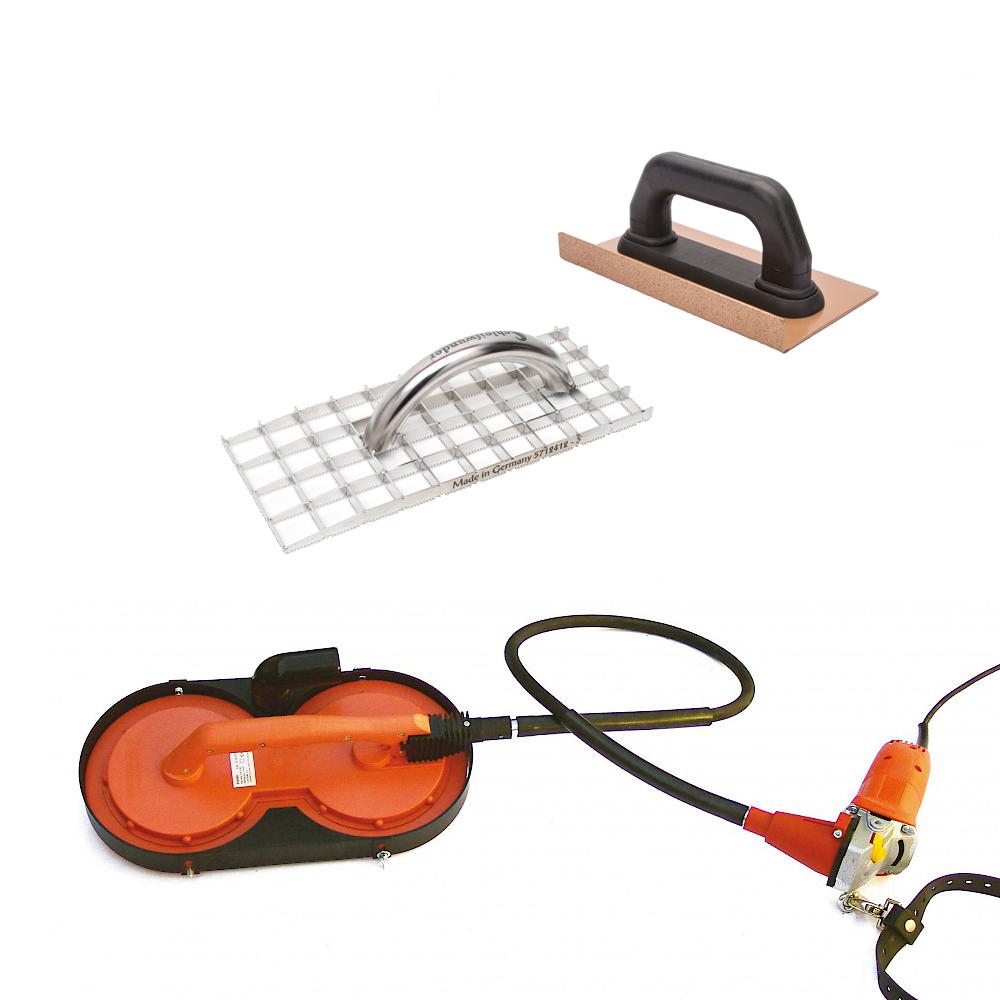 Polistirolo šlifavimo įrankiai